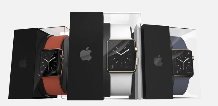 Concept Apple Watch packaging doubles up as cool charging stand