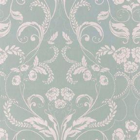 Twiggy Edwardian Wallpaper 104503 Blue By Muriva