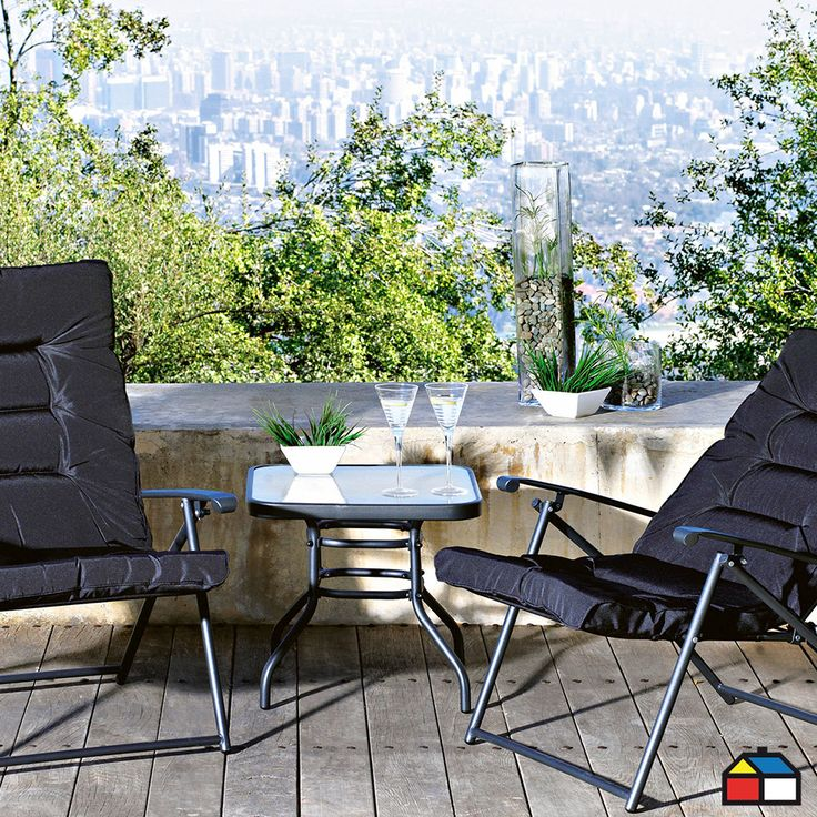 Juego #terraza Sao Paulo 3 piezas