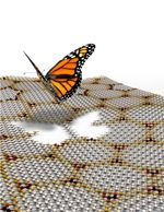 Artistic impressions of Hofstadter butterfly effect in graphene/BN heterostructures exposed to mangetic field from the University of Manchester