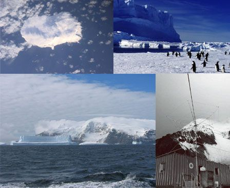 NATURAL: Bouvet Island, remotest uninhabited island in the world, it is 75 square miles covered by glaciers, there are seals, moss, seabirds and penguins