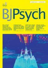 The British Journal of Psychiatry: 203 (2)