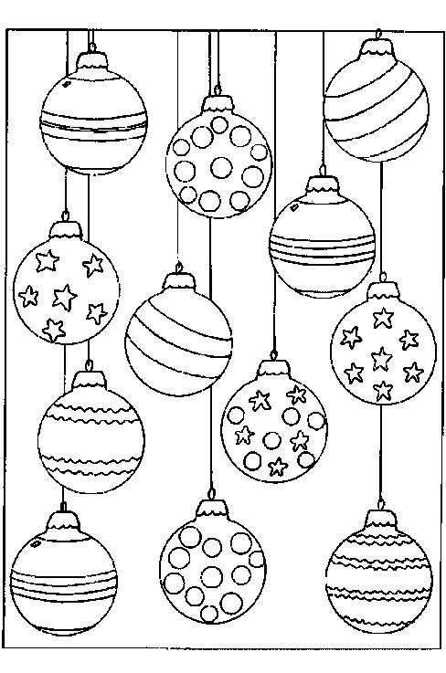 Coloriage Noël à colorier - Dessin à imprimer