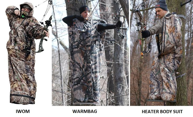 DIY warm suit for hunting