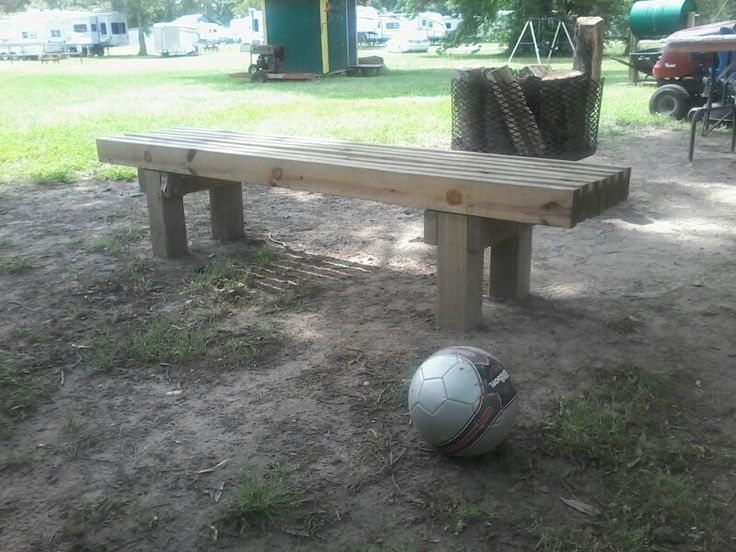 Deck bench/ I have built a few of these and it is still a bit of a challenge, since I still don't have any fancy tools. With saw drill and sander this project is about 4 leasure hours.