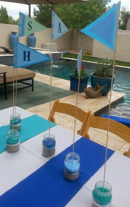 Henry's swim party
