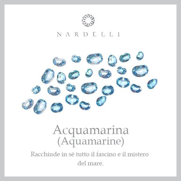 L'acquamarina è il talismano degli innamorati, dono ideale nel giorno delle nozze. Regala anche tu questa meravigliosa pietra!