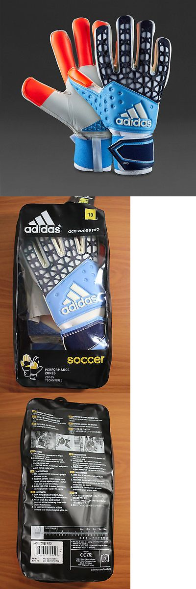 Gloves 57277: Adidas Ace Zone Pro Soccer Gloves Men S (Sz. 10) Ah7805 -> BUY IT NOW ONLY: $59.99 on eBay!