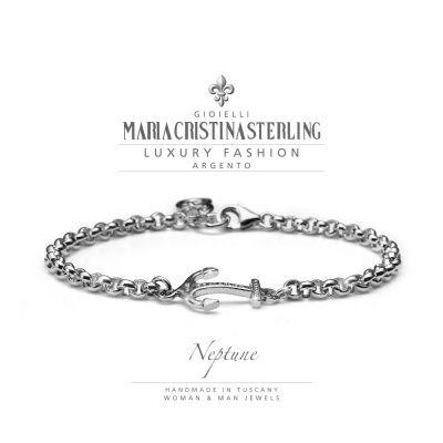 Maria Cristina Sterling bracciale Neptune G2319