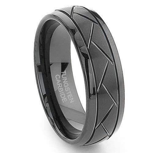 Black Tungsten 8MM Diamond Cut Dome Wedding Band Ring, http://www.amazon.com/dp/B0057Q6T34/ref=cm_sw_r_pi_awdm_TRadtb0QH7720