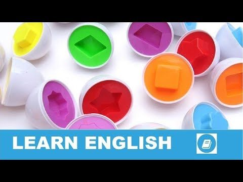 Shapes 2 - Vocabulary Flashcards