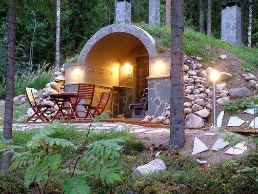 Ondergrondse sauna