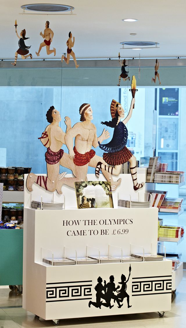 Our first Olympic inspired campaign has been installed at The British Museum
