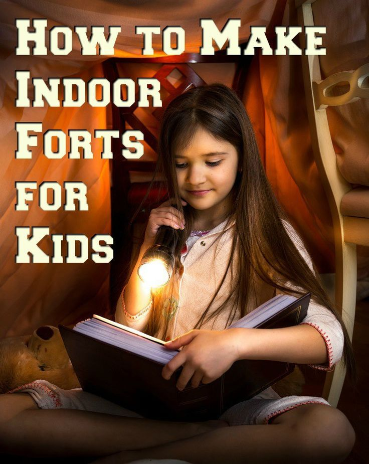 Looking to build some indoor fun with your children? Here is how to how to make indoor forts for kids.