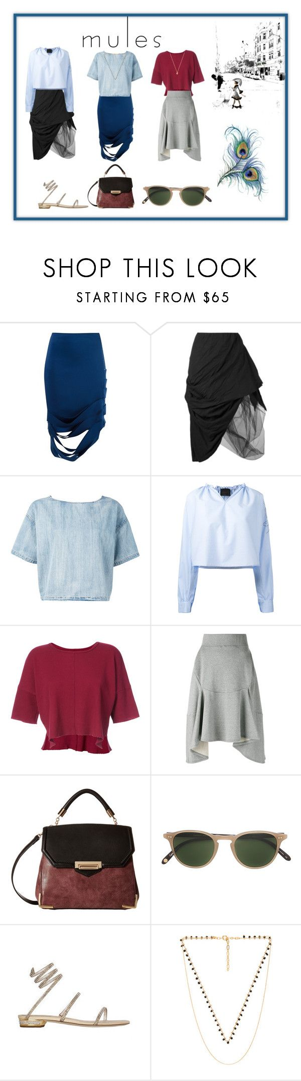 """mules¶"" by racheal-taylor ❤ liked on Polyvore featuring Gloria Coelho, Nostra Santissima, Diesel, Eggs, daniel patrick, Junya Watanabe, Gabriella Rocha, Garrett Leight, Five and Two and CAM"