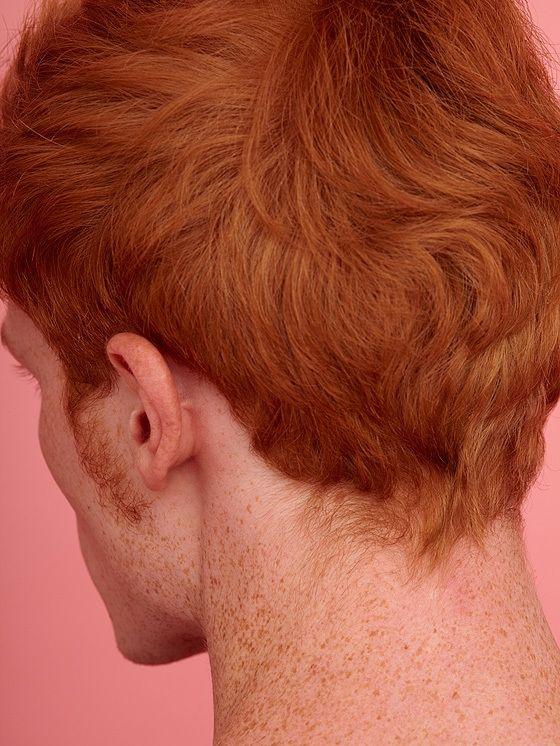 dit is het eerste tijdschrift over mensen met rood haar   read   i-D