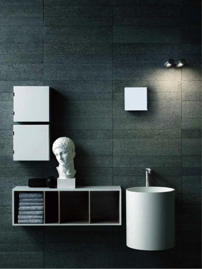 Attractive Ideas For Bathroom Wall Decor Part   4: Attractive Ideas For Bathroom Wall Decor Photo