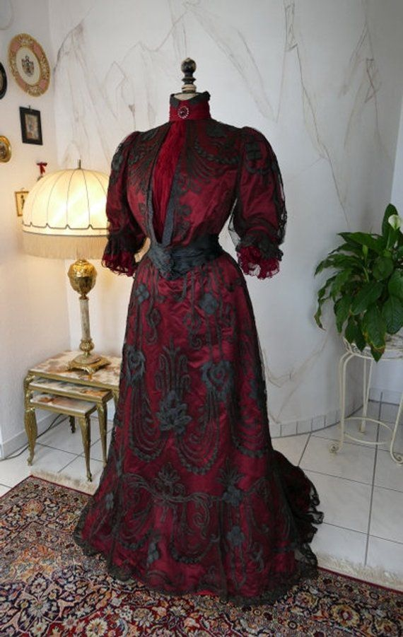 silkehuset dinner or reception gown oslo ca 1906 antique