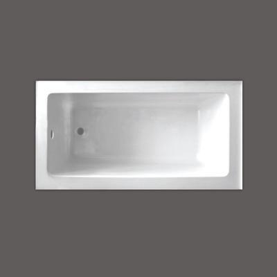 Valley   QUAD 54 X 30 Inch Skirted Bathtub Left Hand Drain   QUAD5430SKLH    Home