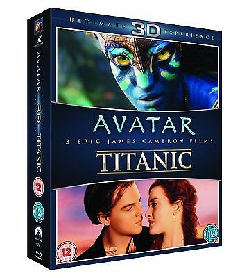 ❏ avatar & #titanic blu-ray 3d + blu ray + #special #features new double ❏ ca,  View more on the LINK: http://www.zeppy.io/product/gb/2/181682029793/