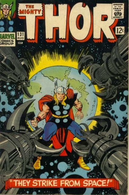 The Mighty Thor facing down Kirby Snipers!