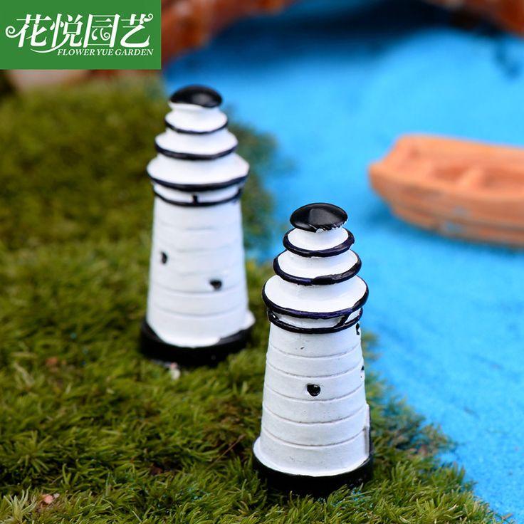 Micro-Carft-DIY-Accessories-Home-Garden-Decoration-ecological-landscape-white-font-b-lighthouse-b-font-DIY.jpg (800×800)