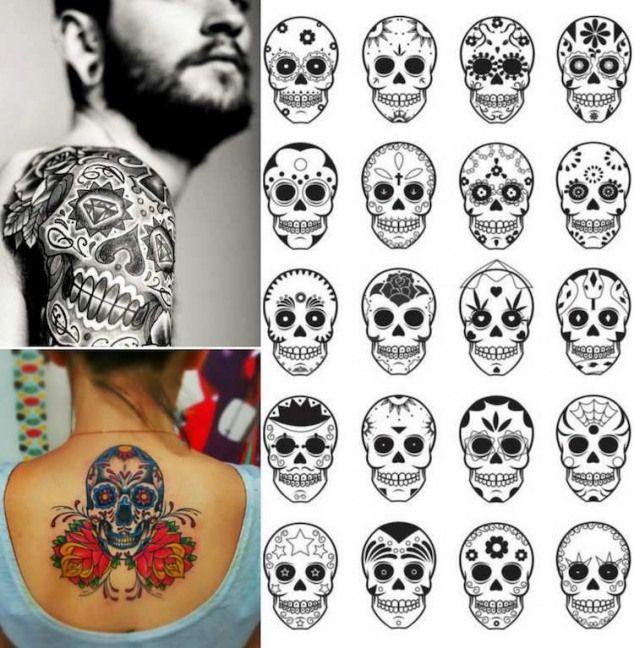 50+ Tatouage tete de mort homme ideas