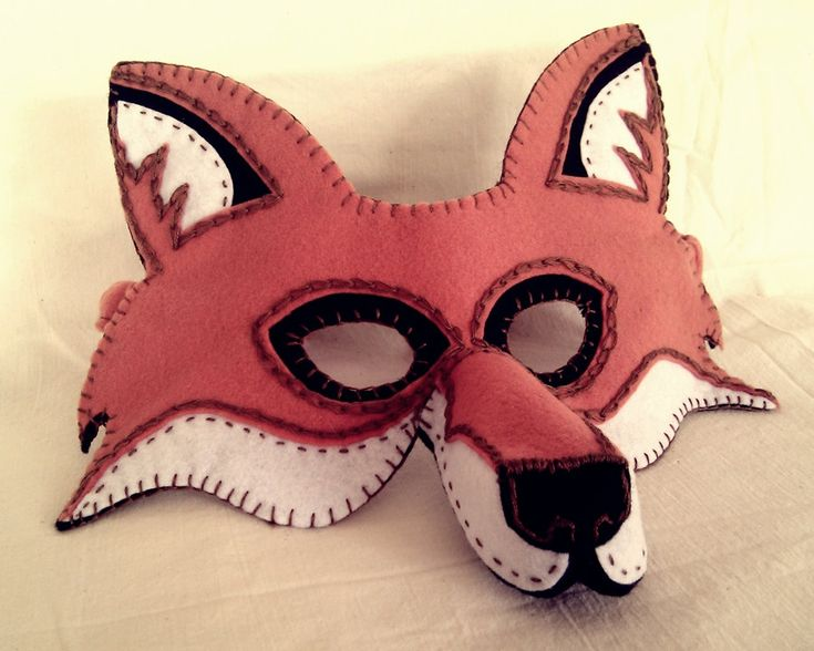 Fox Mask PDF Pattern by oxeyedaisey on Etsy, $5.50