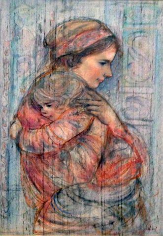 edna hibel paintings - Google Search