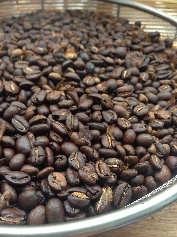2014.8.3  coffee焙煎