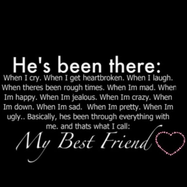 Loving Your Best Guy Friend Quotes: I Love Having A Boy Best Friend