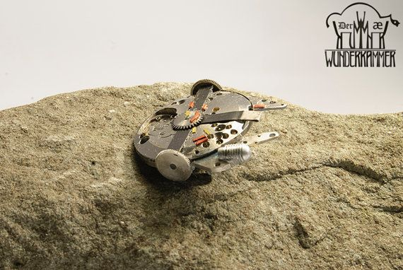 Steampunk STAR WARS Millennium Falcon broche