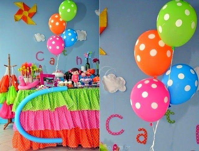 Festa infantil piscina da catharina http www for Piscina party