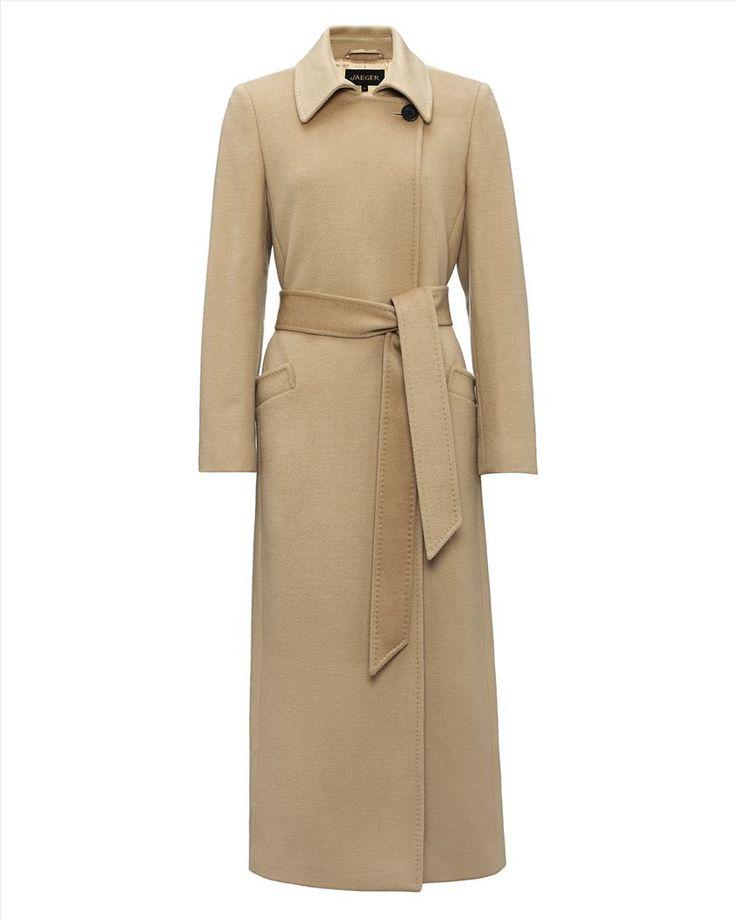 Jaeger Wool Long Belted Coat