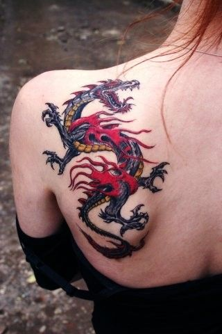 891 best images about dragons tattoo on pinterest tribal dragon tattoos chinese dragon and. Black Bedroom Furniture Sets. Home Design Ideas