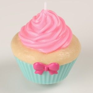 #Bougie #Candle #American #Cupcake
