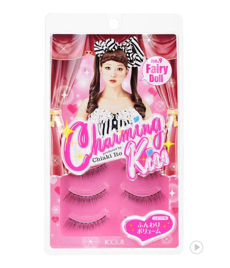 Charming Kiss Eyelash No.9 Fairy Doll                                                  챠밍키스 아이래쉬 NO.9 페어리 돌