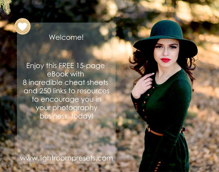 8 Photography Cheat Sheets and free eBook