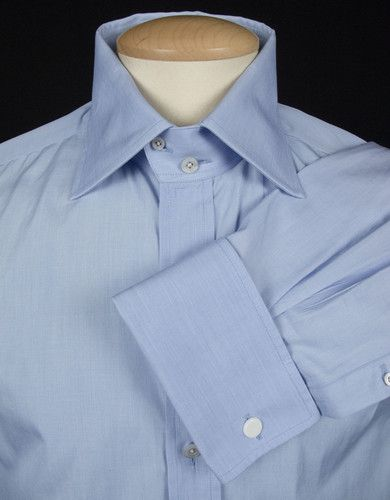 Tom Ford Mens Dress Shirt 42 16 5 L Casual 100 Cotton