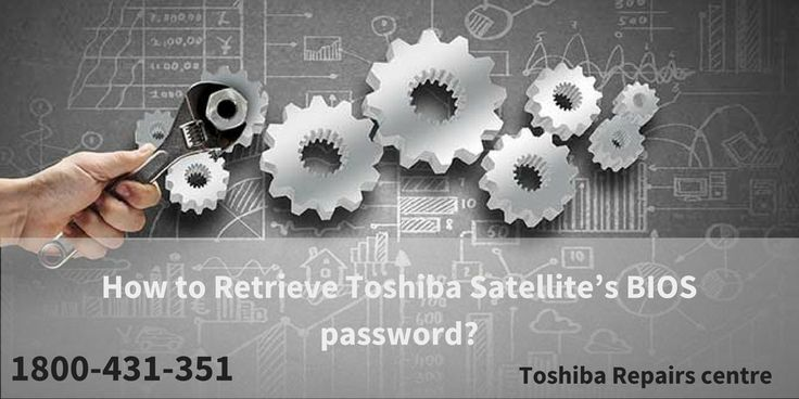 if you want to retrieve Toshiba Satellite's BIOS Password, this PDF will surely beneficial for you. contact Toshiba Support Centre Australia at 1800-431-351.