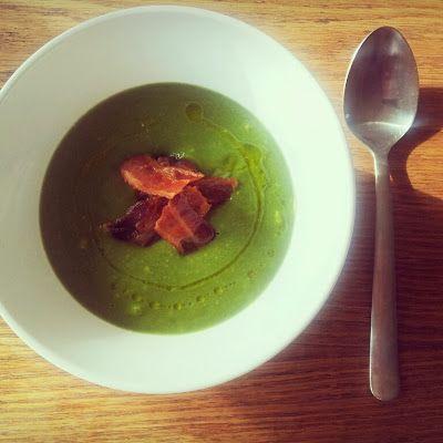 LCHF - Den omvendte verden: Cremet LCHF broccolisuppe (psst.. mejerifri)
