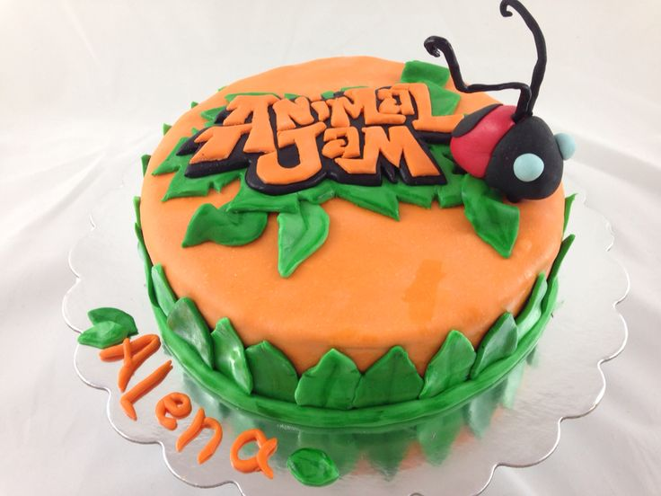 17 best Animal jam cake images on Pinterest Anniversary cakes