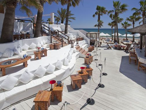 Nikki Beach Marbella - I want to go here!