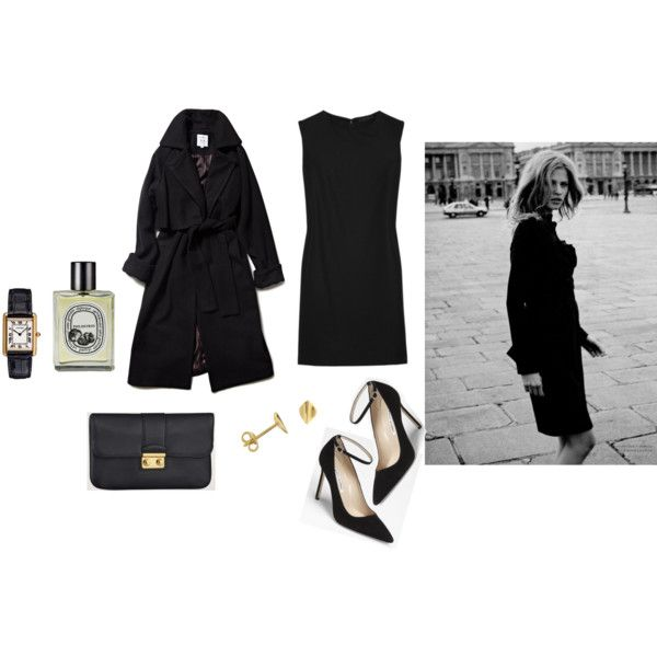 ... by tomorrowsparties on Polyvore featuring Manolo Blahnik, Dinny Hall, Diptyque, LARA and Louis Vuitton