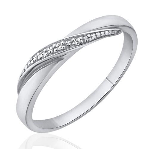 Alliance or blanc diamant  Carlyna