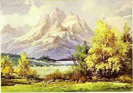 Risultati immagini per paesaggio di montagna estivo