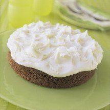 Lemon Iced Feijoa Cake