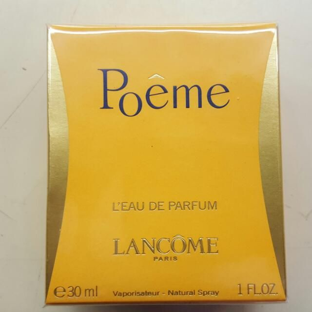 Buy Poeme 1 Oz Eau De Parfum Spray By Lancome in La Grande, OR,United States. Poeme Perfume by Lancome, Launched by the design house of lancome in 1995, poeme is classified as a refined, oriental, floral fragrance. This feminine scent pos Chat to Buy
