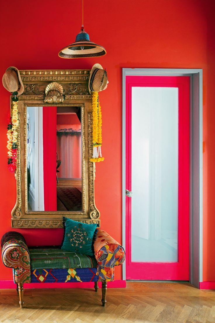 Matthew Williamson bold decor #bright #decor
