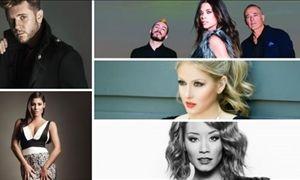 Οι ΠΡΩΤΕΣ ΑΝΤΙΔΡΑΣΕΙΣ του κοινού για τα τραγούδια της Eurovision!